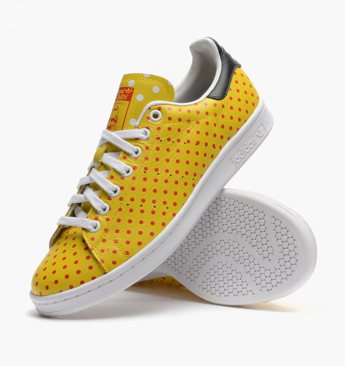 Vente adidas originals baskets stan smith homme jaune Gatorade Daim ... 33f12ac44a6f
