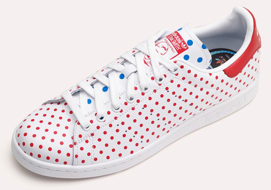 quality design d067d 5ffe6 adidas stan smith a pois