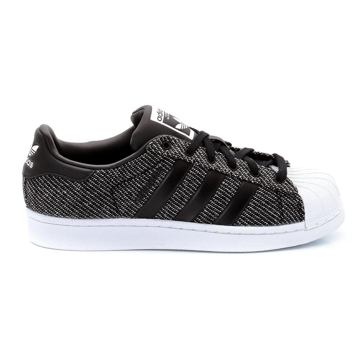 adidas superstar kaki noir