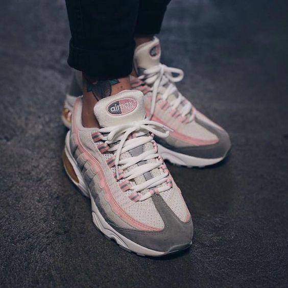 basket air max 95 femme rose