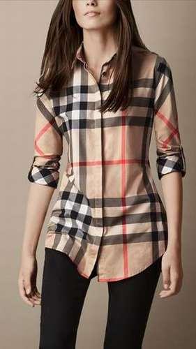 b7b9e8ea0cda burberry chemise femme prix Vente chemise burberry pas cher pour femme  Gatorade Daim Vert Pas Chers Livraison gratuite, ...